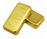 Gold Bar Fridge Magnet (3 pieces)