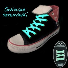 Glow-in-the-Dark Shoelaces - Green