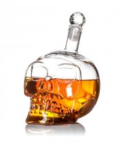 500 ml Skull Liquor Bottle