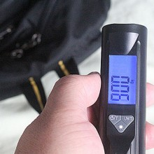 Luggage Scale with a Flashlight