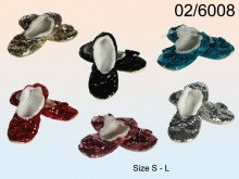 Snoozies - Ballet Flats with Sequins