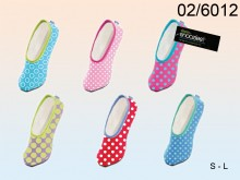 Snoozies Polka Dot Comfort Slippers