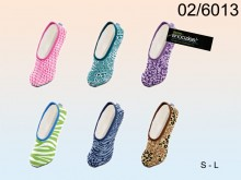 Snoozies Animal Print Comfort Slippers