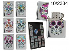Skull Petrol Lighter