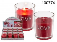 Rose-scented Love Candle