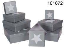 A set of star boxes - the last piece, sale