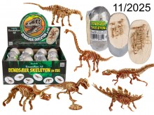 Dinosaur skeleton in egg - the last pieces, sale