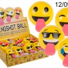 Emoticon Bouncing Ball with a Tongue