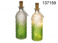 Decorative Green LED Bottle