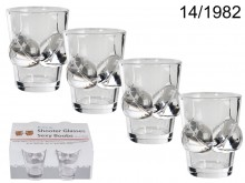 Sexy Boobs Shot Glasses (4 pieces)