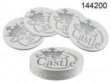 My Home is My Castle Coasters (4 pieces)