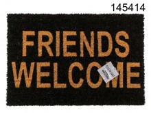 "Doormat ""Friends Welcome"""