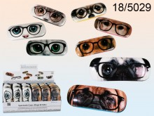 Cats and Dogs Glasses Case
