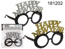 Plastic Happy New Year Party Glasses