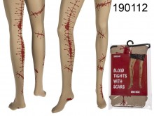 Halloween Blood and Scars Tights