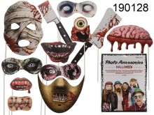 Horror Photo Booth Props on Sticks