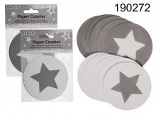 Coasters with Star Theme (6 pieces)