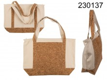 Cotton bag with a cork bottom Natural Style