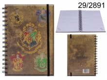 Harry Potter spiral notebook - licensed product