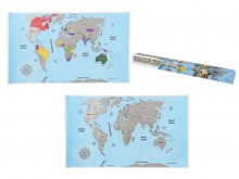 Scratch Map ENGLISH EDITION