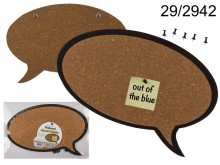 Speech Bubble Memo Board (Cork)