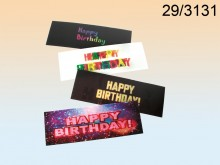 Happy Birthday 3D Bookmark