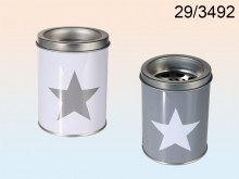 Metal ashtray star
