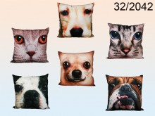 Cat/Dog Pattern Cushion