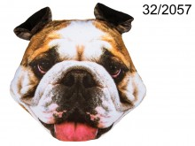 Bulldog Cushion 40 cm
