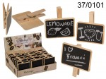 Mini Wooden Blackboard