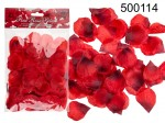 Fabric Rose Petals (Red)