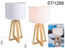 Wooden Table Lamp - 40 cm