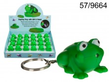 Frog Keychain with Sound & LED