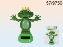 Solar Frog in a Crown
