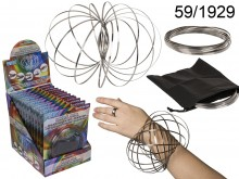 Metal Coil Magic Ring + Pouch