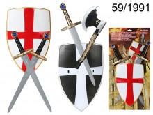 Knight Set with a Shield