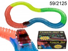 Track Set with Light-up Car