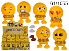 Funny Face bouncing figurine
