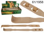 Bamboo Back Scratcher and Massage Device