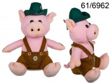 Yodeling Plush Pig in a Hat