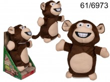 Interactive Plush Monkey with Record & Repeat ...
