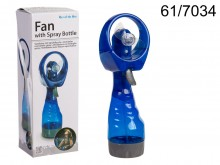 Fan with Spray Bottle