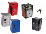 Small Safe Desk Money Box