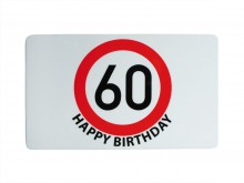 60th Birthday Chopping Board