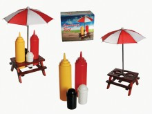 Condiment Set - Picnic Table
