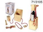 Wooden Wine Bottle Holder