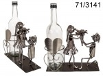 Wine Bottle Holder - Love Couple II