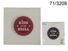 Paper Napkins - King of the Grill