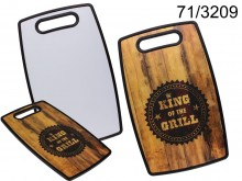 King of the Grill XL cutting board