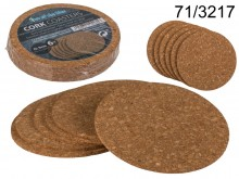Cork washers - a set of 6 pieces